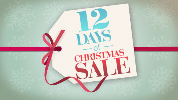12 days of christmas sale at barefoot athleisure in spring lake, nj