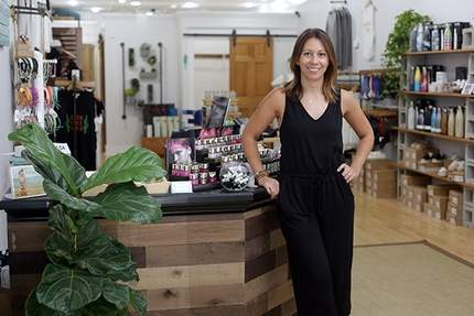 alison maccione barefoot athleisure owner