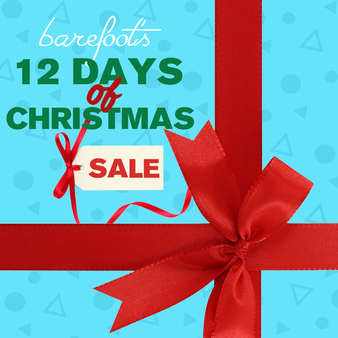 12 days of christmas sale at barefoot in spring lake