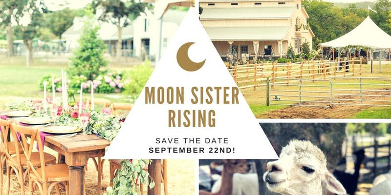 moon sister rising save the date